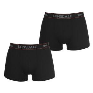 Lonsdale Herren 2er Pack Trunks Unterhose XXL