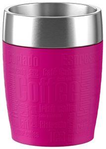 emsa Isolierbecher TRAVEL CUP 0,20 Liter Manschette pink