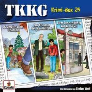 TKKG Krimi-Box 25 (Folgen 193, 194, 195)