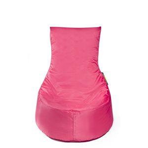 Pushbag - Sitzsack Seat XS - Bezug Oxford in Pink - 60cm