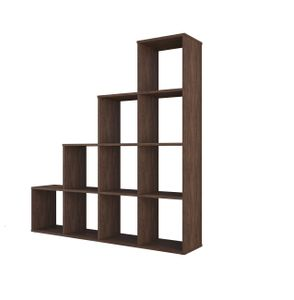 Polini Home Treppenregal Stufenregal Raumteiler Regal 10 Fach