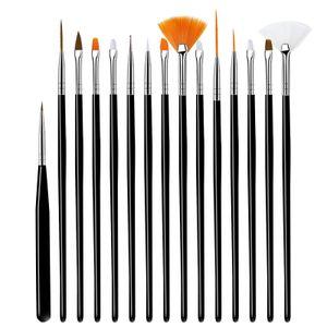 Nagelstift, Phototherapie-Stift, Kristallstift, Silikonstift, Bohrstift, Pinsel, Phototherapie-Stift schwarz