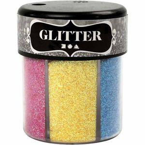glitzerstreuer 6 Farben 13 Gramm