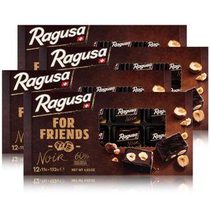 Ragusa for Friends Noir - Pralinen aus dunkler Schokolade 132g (4er Pack)