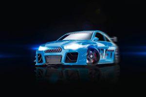 Drift Sturmkind Blue Blizzard - Drift-Car - Elektromotor - Betriebsbereit (RTR) - Blau - Junge - Kun