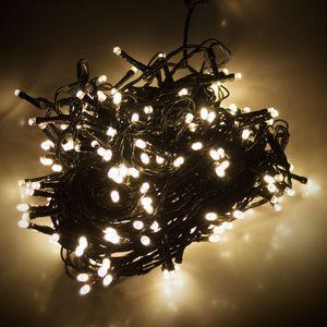 LED-Lichterkette, 180 LEDs, warmweiß, 230V, IP44, Innen/Außen