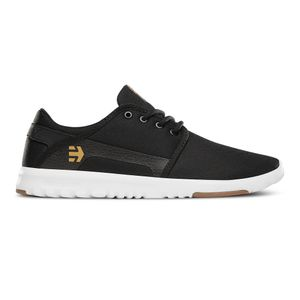 Etnies - Scout Sneaker Herren Fitness Black White Gum Hallen Schuhe Größe 41 (US 8)