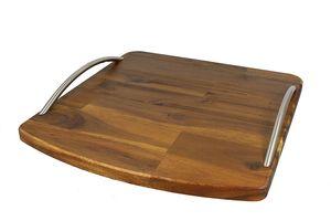 StreamBrush® Premium - Gleitbrett Holz-Gleiter aus Massivholz für den Thermomix TM5 / TM31 Akazie