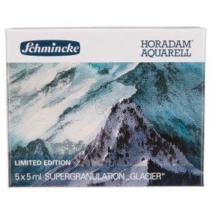 Schmincke Horadam Aquarellfarbe - Glacier  - 5 x 5ml Supergranulation 74 845 097