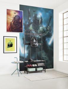 "Komar Vlies Fototapete ""Star Wars Classic Bounty Hunter"" - Größe: 150 x 280 cm (Breite x Höhe), 3 Bahnen"