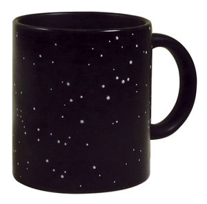 Kaffeetasse mit Thermoeffekt Sternenbilder