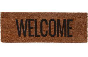 Kokos Fußmatte Welcome schmales Format
