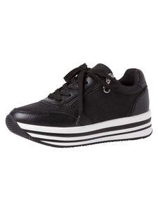 s.Oliver Damen Sneaker schwarz 5-5-23624-26 Größe: 41 EU