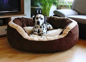 Knuffelwuff Hundebett Heaven aus Velours XXL 120 x 110cm