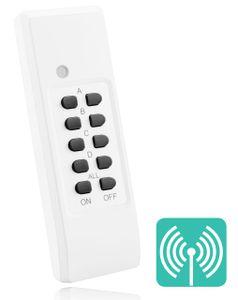 mumbi Fernbedienung für mumbi 4-Kanal Funksteckdosen der Serie FS306 / FS300 / FS600 - Plug & Play 1 Fernbedienung