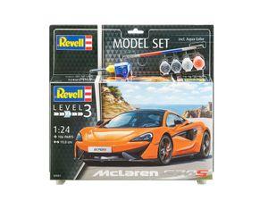 Revell Model Set McLaren 570S - Auto-Modellbausatz; 67051