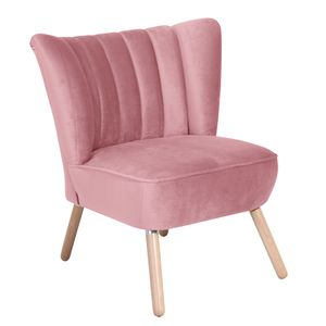 Max Winzer Alessandro Sessel - Farbe: rosé - Maße: 70 cm x 66 cm x 80 cm; 2877-1100-2044206-F01