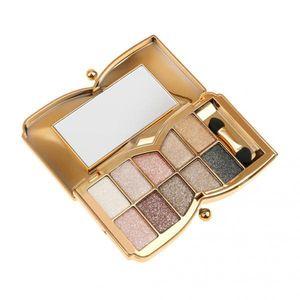 10 Farben Professionelle Diamant Lidschatten-Palette Und Make-up Kosmetische