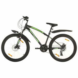 dereoir Mountainbike 21 Gang 26 Zoll Rad 36 cm Schwarz