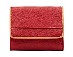 Esprit Damen Geldbörse Portemonnaies Susi City Wallet Rot