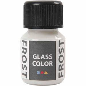 glas- & Porzellanfarbe Glasfarbe 30 ml frostweiß