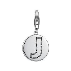 Esprit Anhänger Charms Silber Letter Fabric J ESCH91132A000