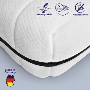 Mister Sandman 7-Zonen Matratze - Matratze 70x200 - Matratze erhältlich in weiteren Größen - Matratzen für jedes Bett und Lattenrost