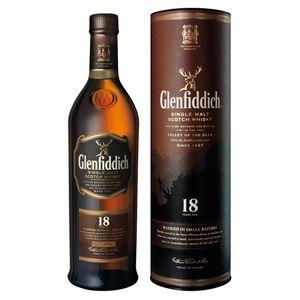 Glenfiddich 18 Years Old SMALL BATCH RESERVE Single Malt Scotch Whisky 40% Vol. 0,7 l + GB