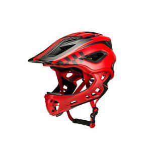 ROCKBROS Kinderhelm Fahrrad Helm Rot M 53-58cm