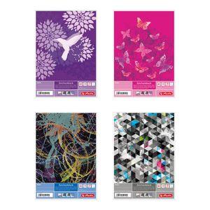 5x Herlitz Malblock / Zeichenblock / 120g/m² / DIN A3 / 4 verschiedene Motive