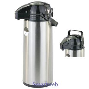 1,9 Liter Pumpkanne Thermoskanne Isolierkanne Kaffeespender Iso Kanne Kaffee
