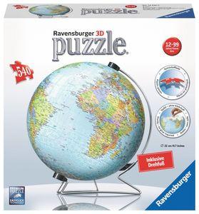 Ravensburger Globus in deutscher Sprache 3D Puzzle-Ball 540 Teile