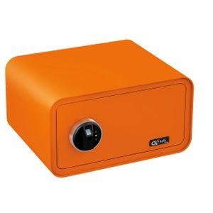 Olympia Go Safe 200 Tresor Design Safe, Fingerprint, Farbe: Orange