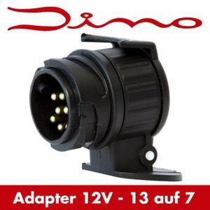 Dino RAID HP Anhänger Adapter Anhängerstecker 13 auf 7 polig Steckdose Stecker