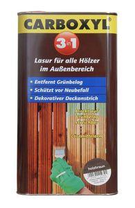 Wilckens Profi Carboxyl Holzlasur 3in1 direkt auf Grünbelag 5 Liter Holzbraun