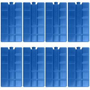 8 Stück Kühlelemente Kühlakkus Kühlakku 200ml Akku Kühlelement Kühlbox