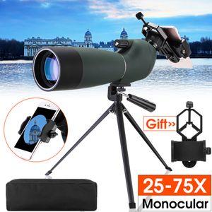 25-75x70 Zoom Teleskop Spektiv + Handy Adapter Astronomie Fernrohr Wasserdicht