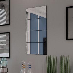 anlund Rahmenlos Spiegel Fliesen Glas 8 Stk. 20,5 cm