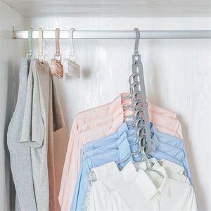6pc Garderobe Space Saver Kleiderschrank Storage Hanger Organizer Weiß Modern Kleiderbügel 33,5 x 5,5 x 17 cm