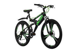 Mountainbike Fully 26'' Bliss schwarz-grün RH 48 KS Cycling
