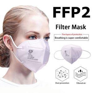 150Pcs Atemschutzmaske FFP2, Stück KN95 Maske FFP2 PM2.5 95% Filtration Gesichtsmaske it   Atemschutzmaske Schutzmasken für mit Ventil Staubmaske
