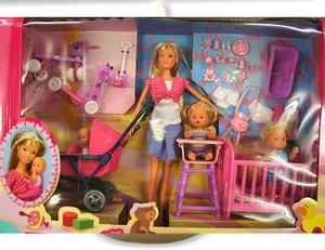 Simba puppe Steffi Love Baby World 29 cm rosa 20-teilig