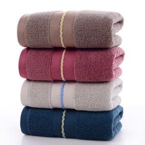 4 Baumwolltücher, weich, saugfähig und schnell trocknend, dickes großes Handtuch für Erwachsene 35 * 75 cm