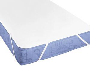 biberna Molton Matratzenauflage Silver Protect Uni Weiss 90x190 cm
