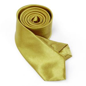 Unisex Herren Damen Schmale Krawatte Dünne Necktie Satin Business Krawatte