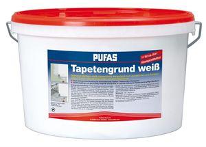 PUFAS Tapetengrund - weiß - 10 Liter