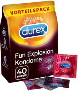 Durex Fun Explosion Vorteilspackung - 40 Stück