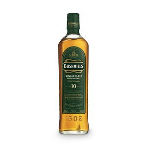 Bushmills 10 Jahre Single Malt Irish Whiskey | 40 % vol | 0,7 l