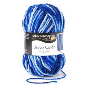 Schachenmayr Bravo Color, 9801421-00087, Farbe:Atlantis, Handstrickgarne