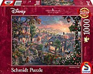 Schmidt Spiele Schmidt 59490 Thomas Kinkade Susi und Strolch 1000 Teil
